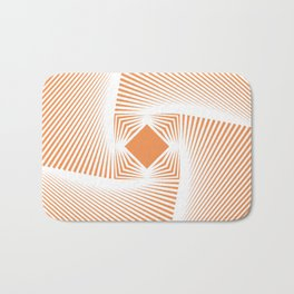 Square Pyramid Bath Mat