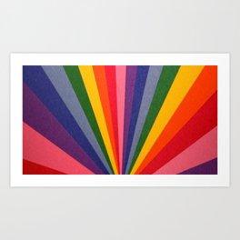 Rainbow Color Gay Pride Season LGBT Pride Month Art Print