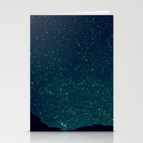 Desert Stars Stationery Cards