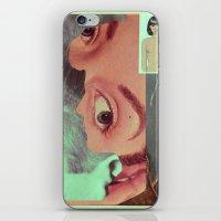 postcard iPhone & iPod Skins featuring Postcard #34 by Jon Duci