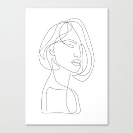 Flirty Canvas Print
