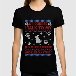 Jack Russell Terrier Ugly Christmas Sweater T-shirt