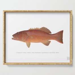 Common Coral Trout Serving Tray