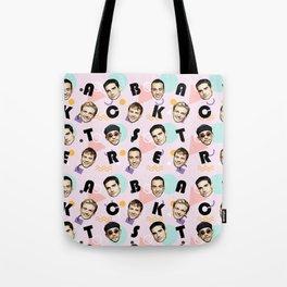 BackstreetBoys Pattern Art Tote Bag