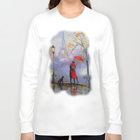 romantic Long Sleeve T-shirts featuring Romantic by OLHADARCHUK