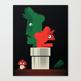 Pipe Down Canvas Print