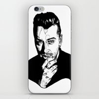 sam smith iPhone & iPod Skins featuring Sam Smith by Giorgia Ruggeri