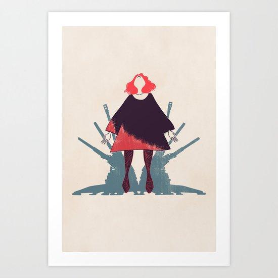 Artillery - Colour Art Print
