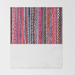 Batik Attack Throw Blanket
