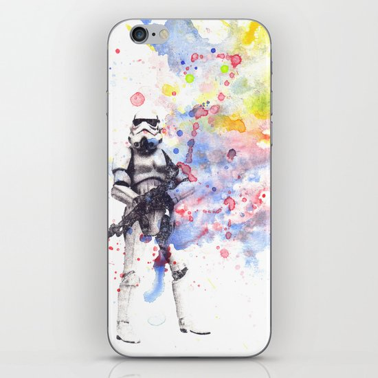 Storm Trooper from Star Wars iPhone Skin