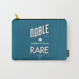 All Noble Things Carry-All Pouch