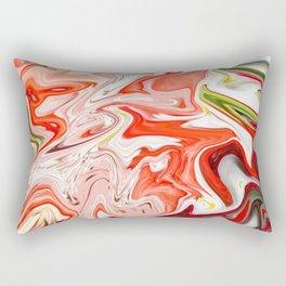 Smashing Strawberries Rectangular Pillow