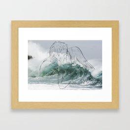 BB KISS Framed Art Print
