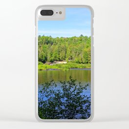 Eternity Hangs in the Balance Clear iPhone Case