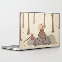 forrest Laptop & iPad Skins featuring Forrest creatures by Loezelot