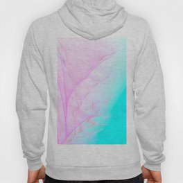 Pastel Motion Vibes - Pink & Turquoise #abstractart #homedecor Hoody
