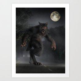 The Beast of Bray Road Art Print