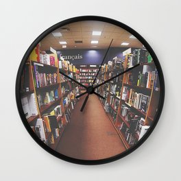 Hit the books Wall Clock