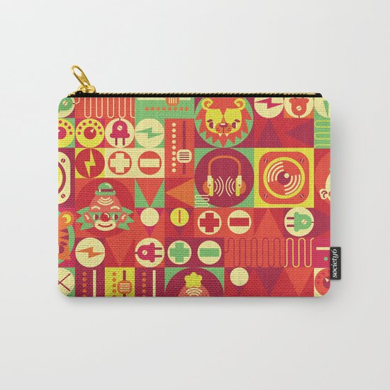 Electro Circus Carry-All Pouch