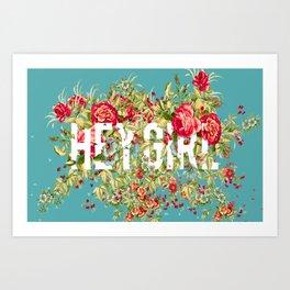 Beaute Girl Art Print