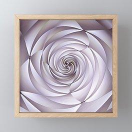 Abstract Rose Framed Mini Art Print