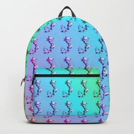 Cheshire Cat Graphic Pattern Backpack