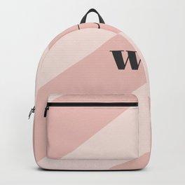 WTF Chevron Backpack