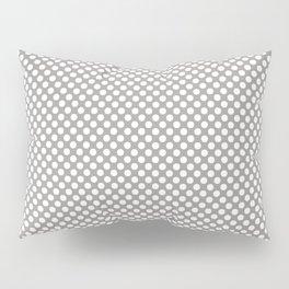Paloma and White Polka Dots Pillow Sham
