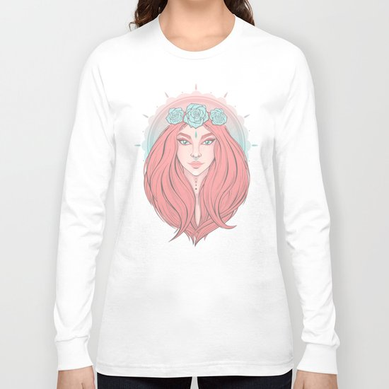 Rose Ivy Long Sleeve T-shirt