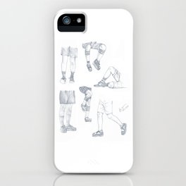 Shorts and Legs - SHINee KEY iPhone Case