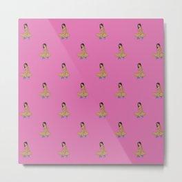 Nicki Anaconda Pattern Metal Print