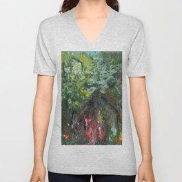 Enchanted Forest Unisex V-Neck