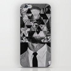 Malcolm x iPhone & iPod Skin