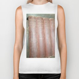 Antique books Biker Tank