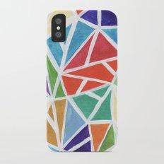 Mosaic iPhone X Slim Case