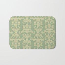 Pattern - Green Chevron Desmask Bath Mat