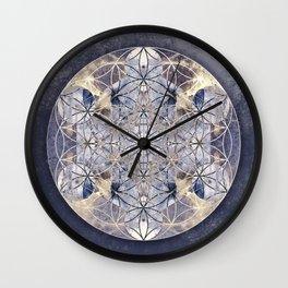 Flower of enlightenment Wall Clock