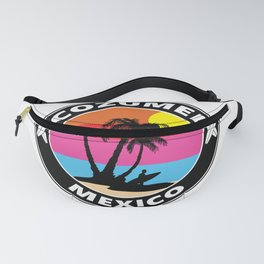 Surf Cozumel Mexico Fanny Pack