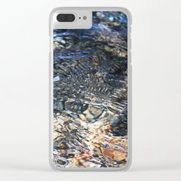 The Movement of Water Clear iPhone Case