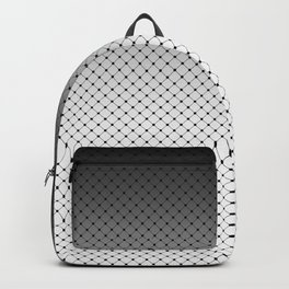 White- black Ombre 2 Backpack