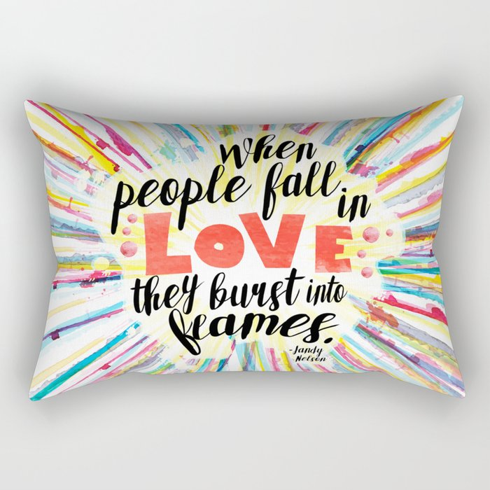 Ill Give You The Sun quote design Rectangular Pillow