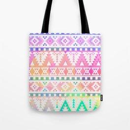 Watercolor Tribal Pastel Tote Bag