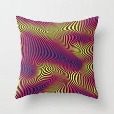 DISTORTION HOT Throw Pillow
