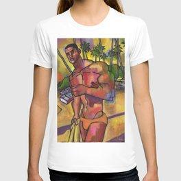 Guayacanes: Jeison in a Speedo T-shirt