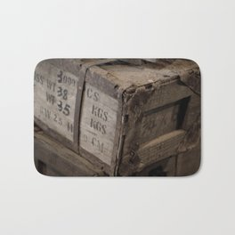 Antique Crates Bath Mat