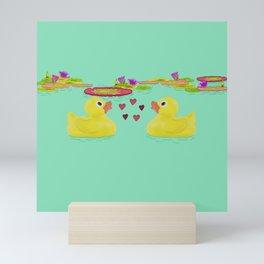 Duckies Mini Art Print