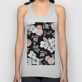 Night bloom - moonlit flame Unisex Tank Top