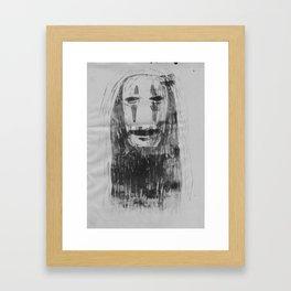 Spirited Away No Face  Framed Art Print