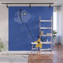 Fantastic Abordage Falling Pirate Star Wall Mural
