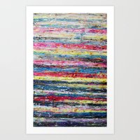 knitting Art Prints featuring Knitting by Asta Buteniene